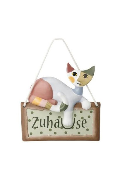 Comoda - T�rschild mit Katze
