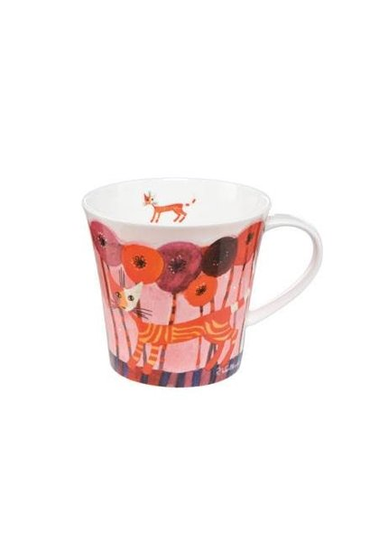 Fiori rossi - Coffee-/Tea Mug