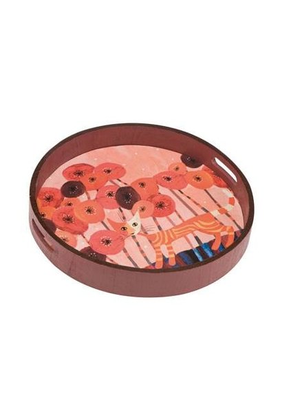 Fiori rossi - Tablett