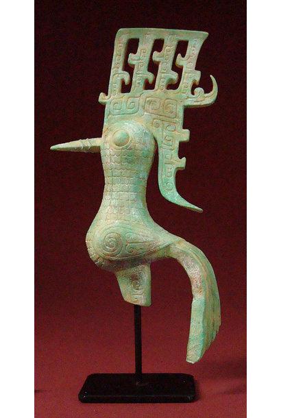 Bronzen Shu uit de Shang-dynastie  (XIIe eeuw v. Chr.)