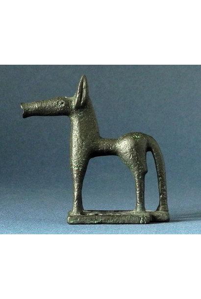 Greek geometric horse