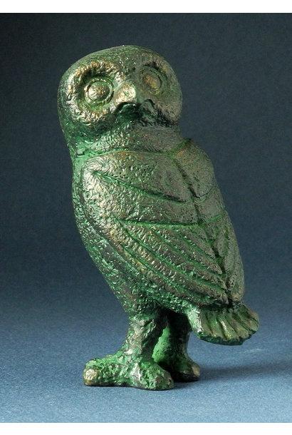 Bronze Eule, Karia