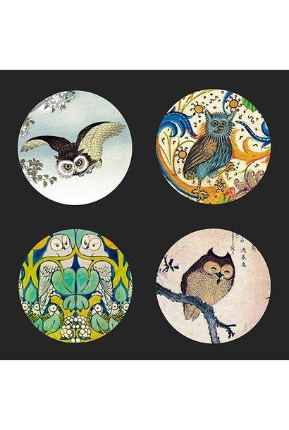 Coasters Owls