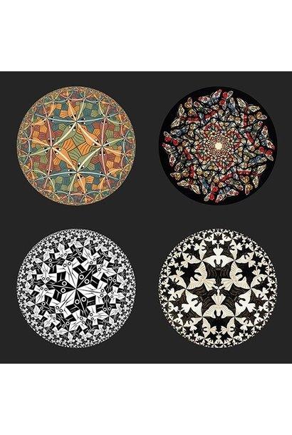 Untersetzern Circles von Escher