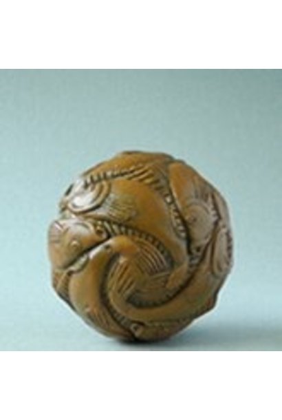 Sphere with fish