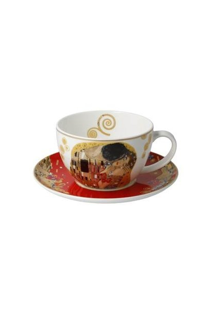 The Kiss Red - Tea-/Cappuccino Cup