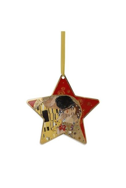The Kiss Red - Hanging Ornament
