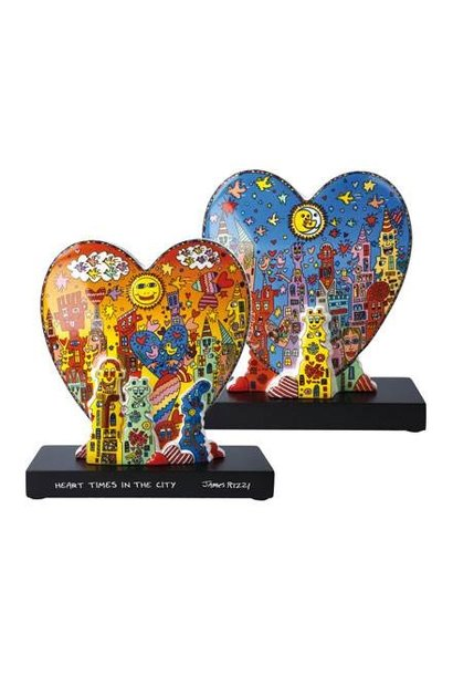"""James Rizzi - """"Heart times in the City"""""""