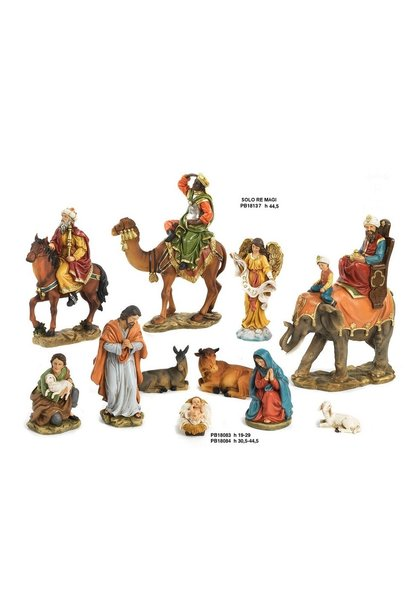 Kerststal 11 delig