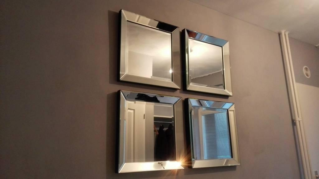 Spiegel Met Spiegelrand.Domestica Interior Design Spiegel Met Spiegelrand 50x50 Cm