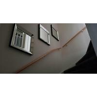 Spiegellijst met spiegel - 50x50 cm