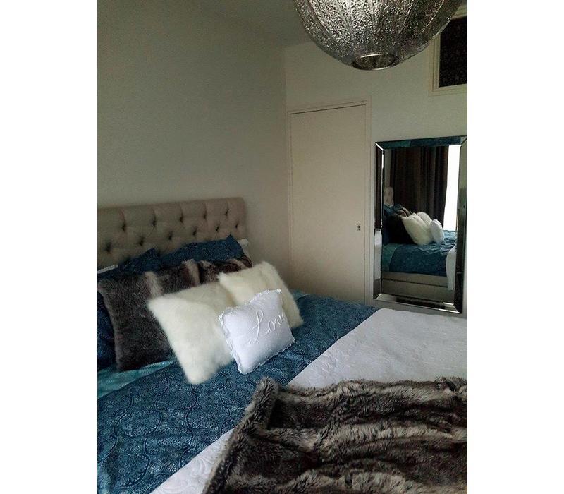 Domestica Interior Design.Domestica Interior Design Spiegel Met Spiegelrand Zilver 70x130