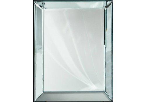 Domestica Interior Design Spiegel met spiegelrand - zilver 100x130 cm