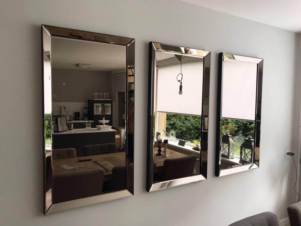 Spiegel Met Spiegelrand.Domestica Interior Design Spiegel Met Spiegelrand Brons 70x130