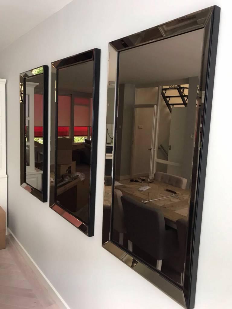 Spiegel Met Spiegellijst.Domestica Interior Design Spiegel Met Spiegelrand Brons 70x130