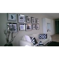 Spiegellijst fotolijst - zilver 40x40