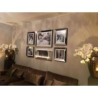 Spiegellijst fotolijst - zilver 50x60