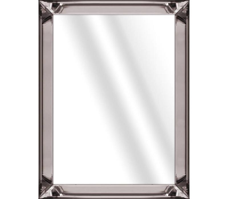 Fotolijst met spiegelrand - brons 50x50