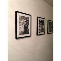 Fotolijst zwart frame - Angelina Jolie