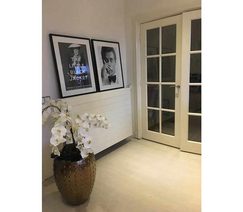 Fotolijst zwart frame - Kate Moss met sigaret