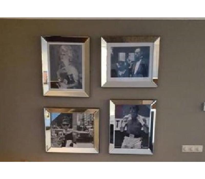 Set van 4 - 4 fotolijsten 50x60 cm