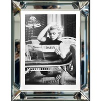 Fotolijst Marilyn Monroe  Daily - zilver 50x60