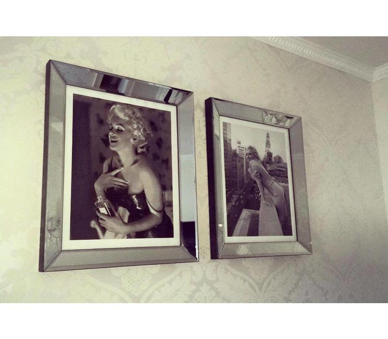 Fotolijst Marilyn Monroe Ambassador Hotel -  zilver 70x90