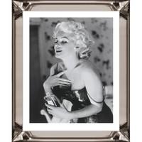 Fotolijst Marilyn Monroe Chanel No 5- brons 50x60