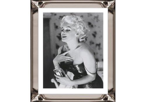 Fotolijst Marilyn Monroe Chanel No 5  - brons 50x60