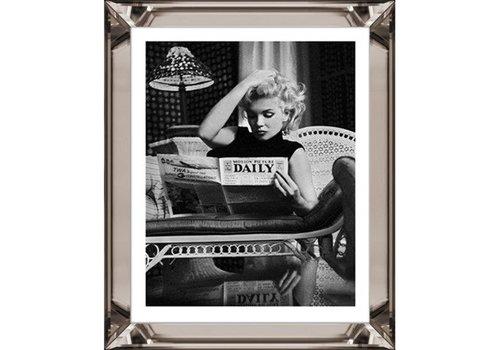 Fotolijst Marilyn Monroe - brons 70x90 cm