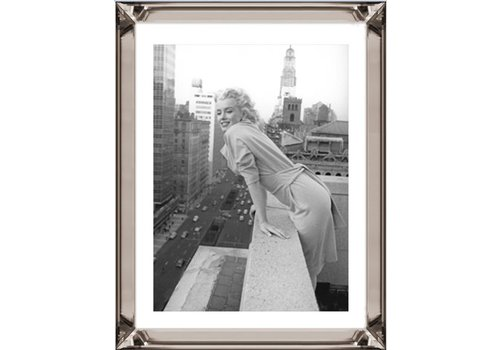 Fotolijst Marilyn Monroe Top of the World - brons 70x90 cm