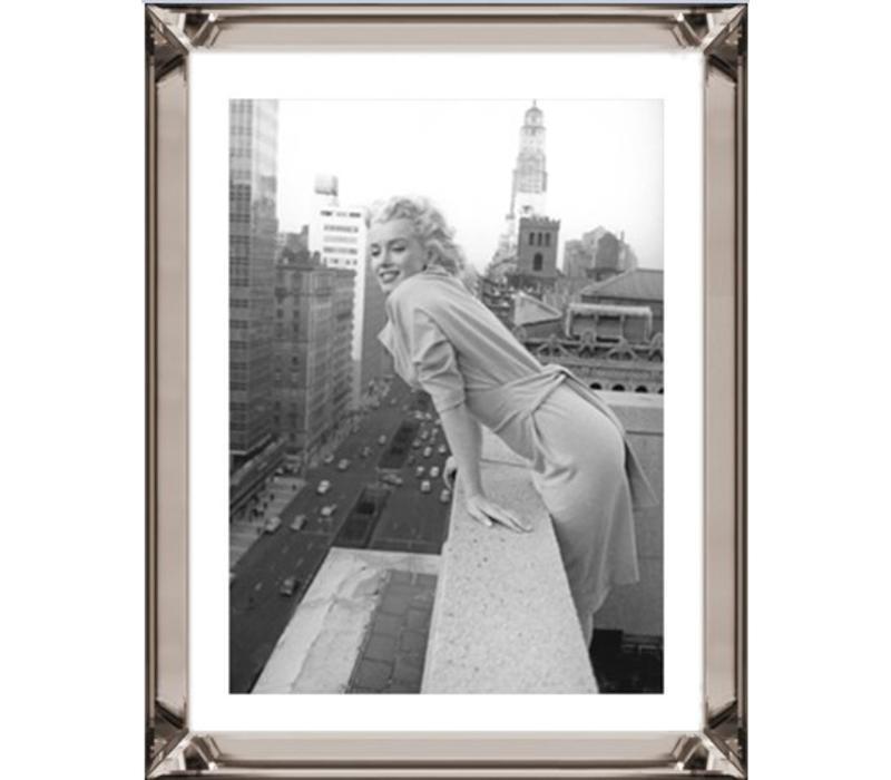 Fotolijst Marilyn Monroe Top of the World - brons 70x90 cm