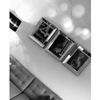 Fotolijst Marilyn Monroe Zwaaiend - zilver 50x60