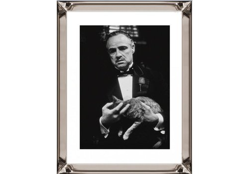 Fotolijst The Godfather The Cat  - brons 70x90