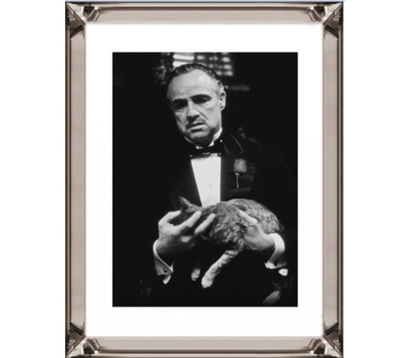 Fotolijst The Godfather The Cat  - brons 70x90 - Copy - Copy