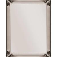 Spiegel met spiegelrand -brons 70x130