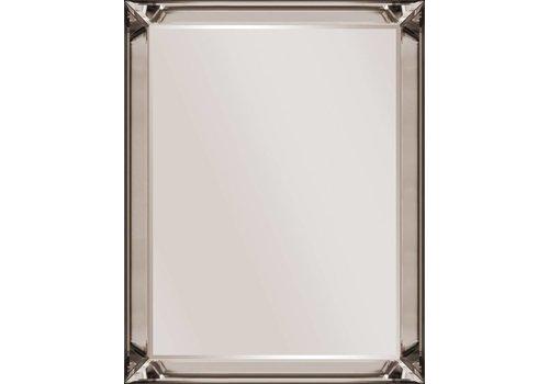 Domestica Interior Design Spiegel met spiegelrand - brons 50x50
