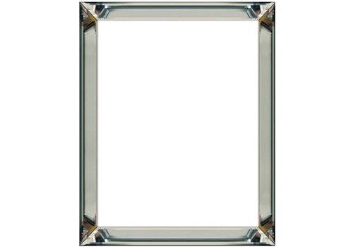 Domestica Interior Design Fotolijst met spiegelrand - zilver 40x40