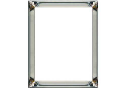 Domestica Interior Design Fotolijst met spiegelrand - zilver 50x50