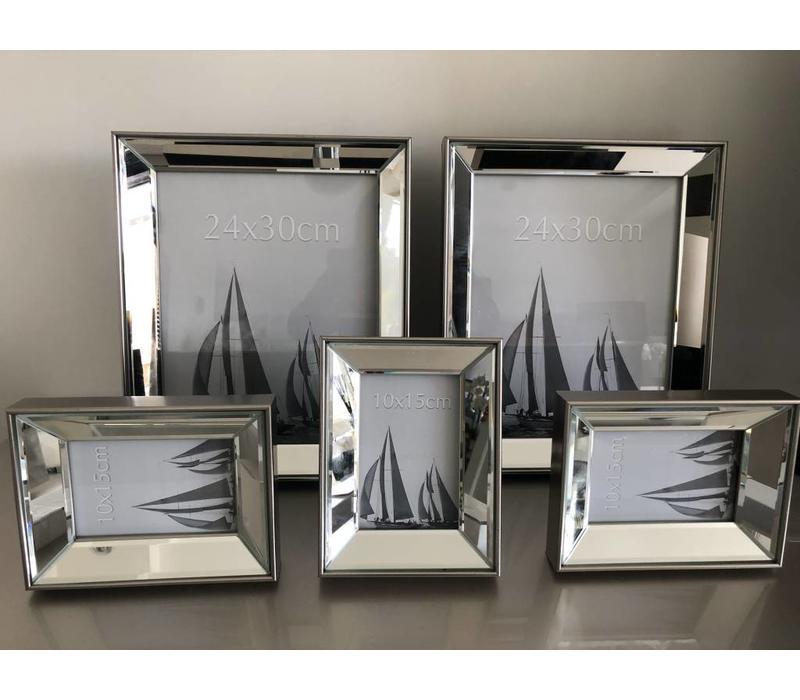 Set van 5 - combiset zilver