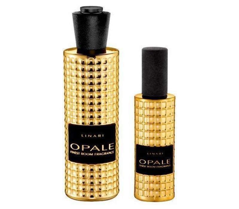 Linari set interieurparfum diffuser en roomspray - goud Opale