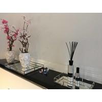 Linari set interieurparfum diffuser, roomspray en kaars- zilver Fenice
