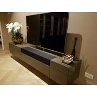 Linari set interieurparfum diffuser, roomspray en kaars - zwart Ambra