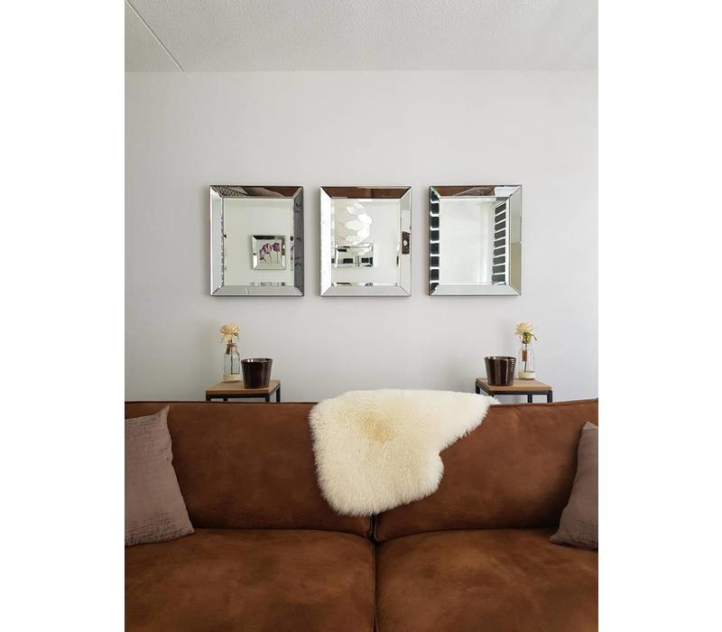 Spiegellijst met spiegel 50x60 cm