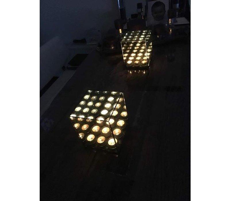 Waxinelichthouder 9-voudig