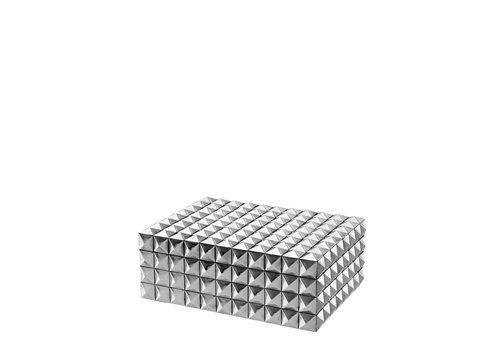 Eichholtz EICHHOLTZ Luxe box Viviënne zilver S