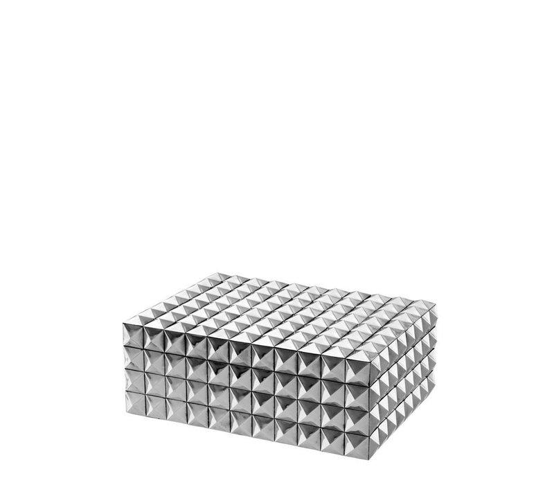 EICHHOLTZ Luxe box Viviënne zilver S