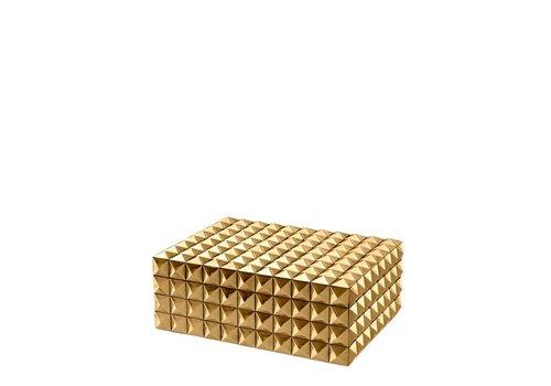 Eichholtz EICHHOLTZ Luxe  box Viviënne goud S