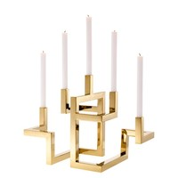 EICHHOLTZ Candle holder Skyline kaarsenhouder goud