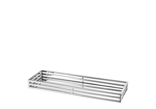 Eichholtz EICHHOLTZ tray Ersa spiegeldienblad zilver